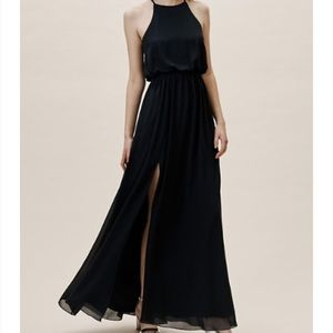 BHLDN Cayenne dress in midnight